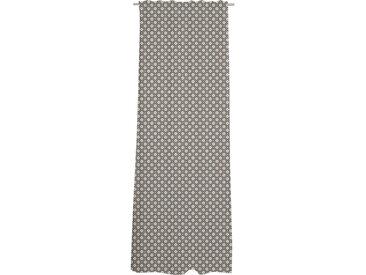 Esprit FERTIGVORHANG blickdicht 130/250 cm , Weiß, Beige, Raute, 130 cm