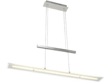 Novel LED-HÄNGELEUCHTE , Metall, Glas, 9x150 cm