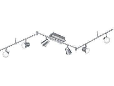 XXXLutz LED-DECKENLEUCHTE , Chrom, Nickel, Metall, Kunststoff, 177x23x10 cm