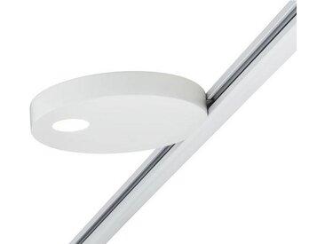 Paulmann Licht URAIL SCHIENENSYSTEM-STRAHLER , Weiß, Metall, 13.5x1.9x13.0 cm