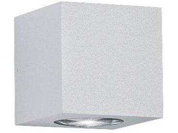 Helestra AUßENWANDLEUCHTE Weiß , Metall, 8x8x8 cm