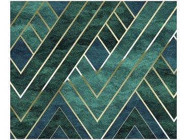 XXXLutz VLIESTAPETE , Grün, Gold, Papier, Abstraktes, 300x250 cm