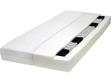 Carryhome TASCHENFEDERKERNMATRATZE Höhe ca. 19 cm , Weiß, H3=fest ab ca.80kg, 100 cm