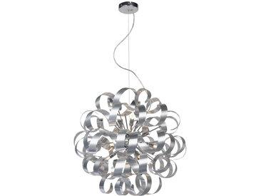 Ambiente LED-HÄNGELEUCHTE , Silber, Metall, 600 mm, 180 cm