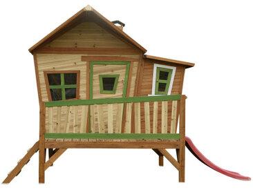 XXXLutz Spielhaus Emma , Braun, Holz, Zeder, massiv, 345x229x180 cm