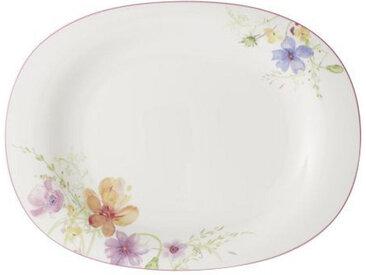 Villeroy & Boch SERVIERPLATTE, Mehrfarbig, Keramik, Floral