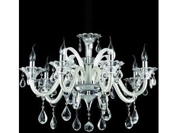 XXXLutz KRONLEUCHTER, Beige, Metall, Glas, 85-160 cm