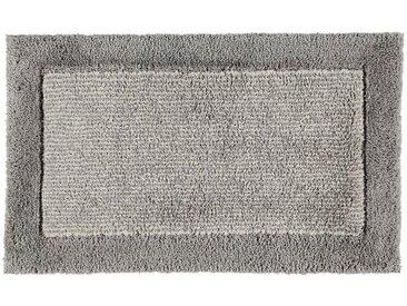 Cawoe BADTEPPICH Grau 70/120 cm , Streifen, 70 cm