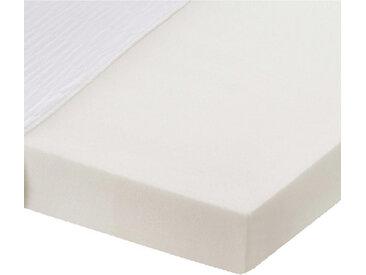 Carryhome KOMFORTSCHAUMMATRATZE Höhe ca. 13 cm , Weiß, H2=mittel bis ca.80kg, 140 cm