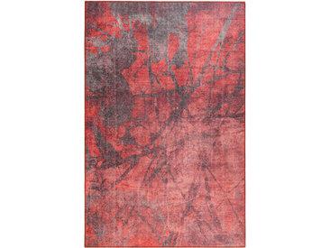 Novel WEBTEPPICH 190/290 cm Rot, Rotbraun , Abstraktes, 190 cm