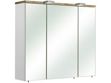 Xora: Spiegelschrank, Holzwerkstoff, B/H/T 80 70 20
