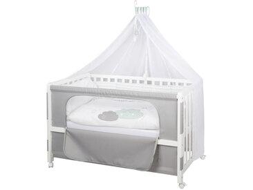 Roba GITTERBETT-KOMPLETTSET Room Bed Happy Cloud Weiß, Grün , Holz, 60 cm