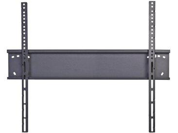 MID.YOU TV-WANDHALTER 80 Zoll , Schwarz, Metall, 100x65x5.4 cm