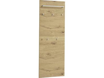 XXXLutz GARDEROBENPANEEL Balkeneiche furniert Braun , Holz, 60x170x10 cm
