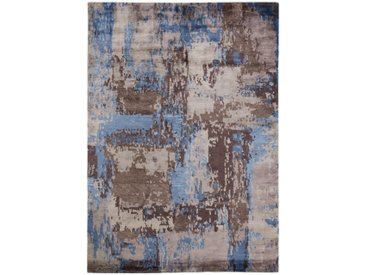 ORIENTTEPPICH 140/200 cm Blau, Braun, Beige