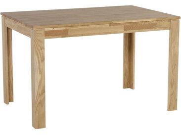 Celina Home ESSTISCH Eiche massiv rechteckig Braun , Holz, 80x76 cm