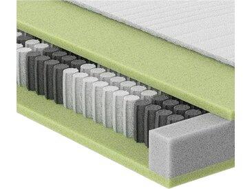 Schlaraffia TASCHENFEDERKERNMATRATZE Höhe ca. 20 cm , Weiß, H4=sehr fest ab ca.100kg, 100x190 cm