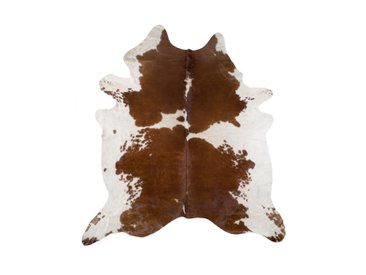 Linea Beigea RINDERFELL 160/250 cm Braunfarben , Fell, Echtleder, Tier, 160 cm