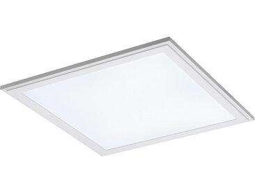 XXXLutz LED-DECKEN- UND EINBAULEUCHTE , Weiß, Metall, Kunststoff, 45x1.5x45 cm
