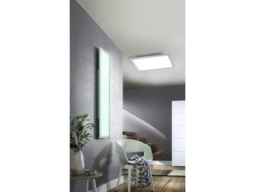 XXXLutz LED-DECKEN- UND EINBAULEUCHTE , Weiß, Metall, Kunststoff, 45x1.5 cm