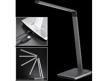 Novel LED-TISCHLEUCHTE , Metall, bis 79 cm