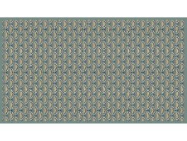XXXLutz LÄUFER 90/160 cm Grün , Kunststoff, orientalisch, 90x160 cm