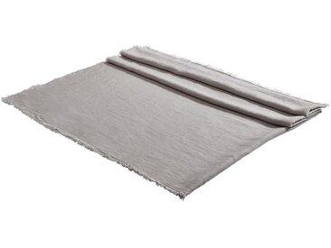 Esposa: TISCHDECKE Textil Silberfarben 130/170 cm