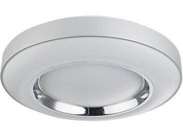 XXXLutz LED-DECKENLEUCHTE , Grau, Weiß, Silber, Metall, Kunststoff, 12.5 cm