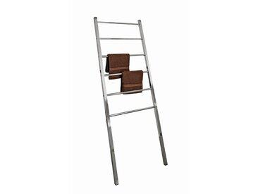 XXXLutz HANDTUCHLEITER, Silber, Metall, 60x166x3 cm