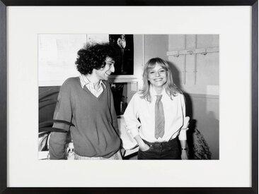 Michel Berger und France Gall 1978 Bilder/Bild/Foto