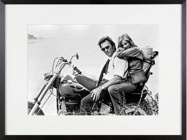 Clint Eastwood und Sondra Locke Bilder/Bild/Foto