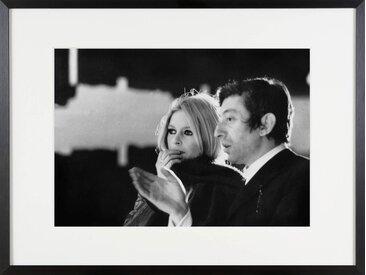 Brigitte Bardot und Serge Gainsbourg im Jahr 1967 Bilder/Bild/Foto