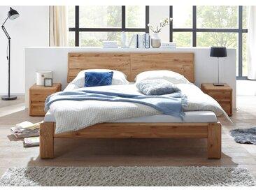 VERONA Bett 160x200 Wildeiche massiv geölt