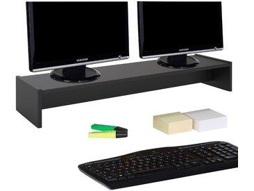 Monitoraufsatz ZOOM 100 x 15 x 27 cm in schwarz