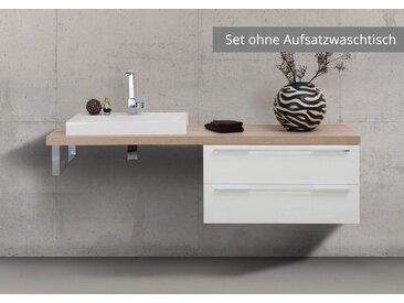 Badmöbel nach Maß Waschtischplatte mit Unterschrank, ohne Aufsatzwaschtisch