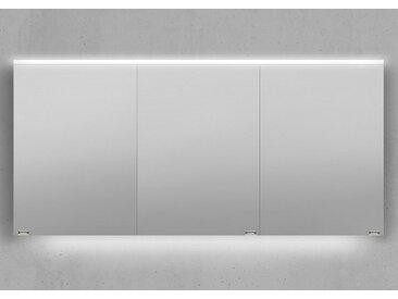 Spiegelschrank 150 cm integrierte LED Beleuchtung doppelt verspiegelt