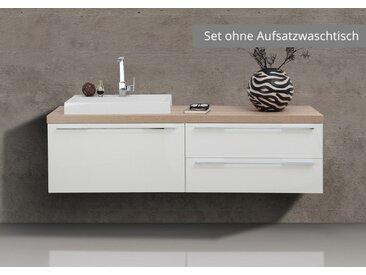 Badmöbel Waschtischplatte nach Maß mit Unterbau, ohne Aufsatzbecken