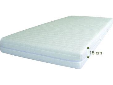 Naturlatexmatratze SleepWell 15, 200x90cm, Härte 2, TENCEL® wash
