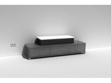 TV-Aufsatz Belmaro Soundcape Weiß lackiert