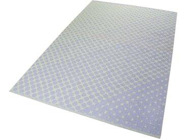 Esprit Teppich  »VEL Kelim«, 4 mm Gesamthöhe, blau