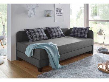 Maintal Gästebett, mit Bettkasten, grau