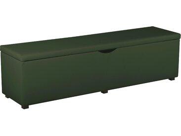 Places Of Style Hockerbank »Standard«, 160x42x40 cm (BxHxT), grün
