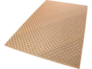 Esprit Teppich  »VEL Kelim«, 4 mm Gesamthöhe, orange