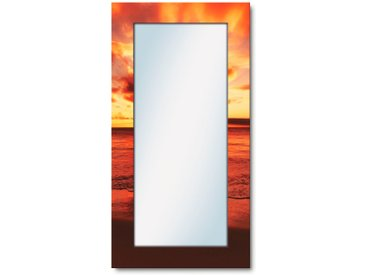 Artland Wandspiegel »Schöner Sonnenuntergang Strand«, 60.4x120.4x1.6 cm (BxHxT)