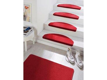 Hanse Home Stufenmatte  »Fancy«, 23x65x0.7 cm (BxLxH), 7 mm Gesamthöhe, rot