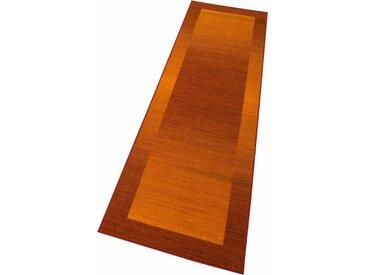 Theko® Läufer »Gabbeh Ideal«, 100x250x0.6 cm (BxLxH), 6 mm Gesamthöhe, braun