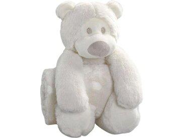 Biederlack Babydecke »Eisbär«, 75x100 cm, beige