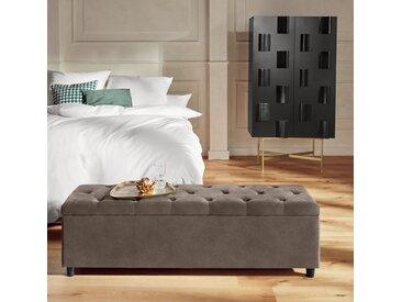 Guido Maria Kretschmer Home&living Bettbank »Relaxy«, 120x41.5x40 cm (BxHxT), pflegeleicht, beige