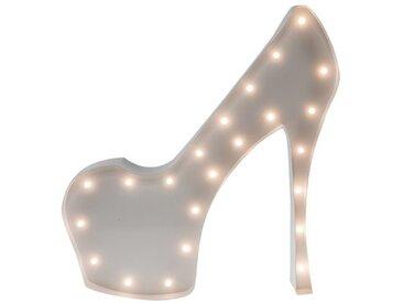 Marquee Lights  LED Dekolicht  »High-Heel«, 29x31x31 cm (BxLxH), weiß