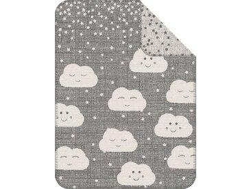 S.oliver Kinderdecke »Clouds«, 75x100 cm, grau